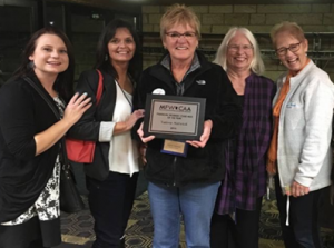 2016 Financial worker/Case Aide of the year, Valerie Natwick